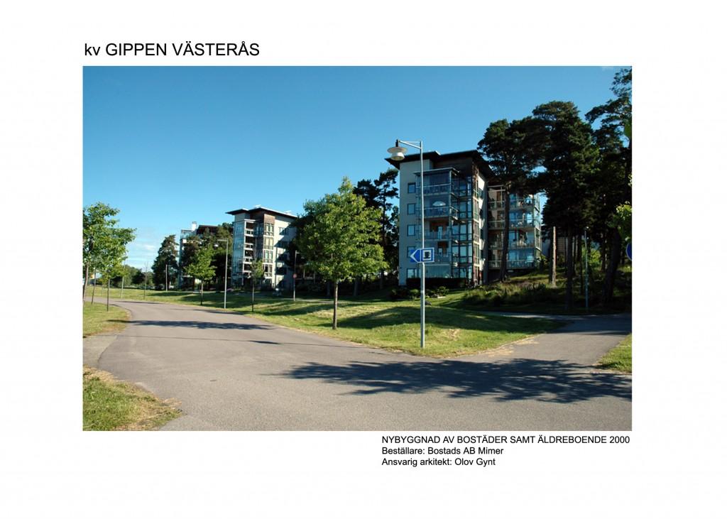 2000-Gippen, Västerås