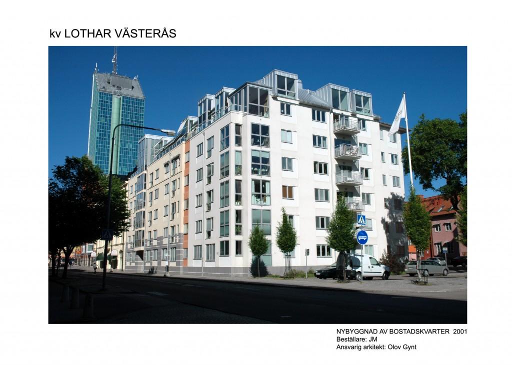 2001-Lothar, Västerås