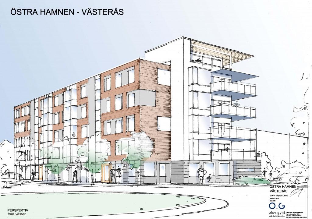 2005, Östra Hamnen L- hus, Västerås
