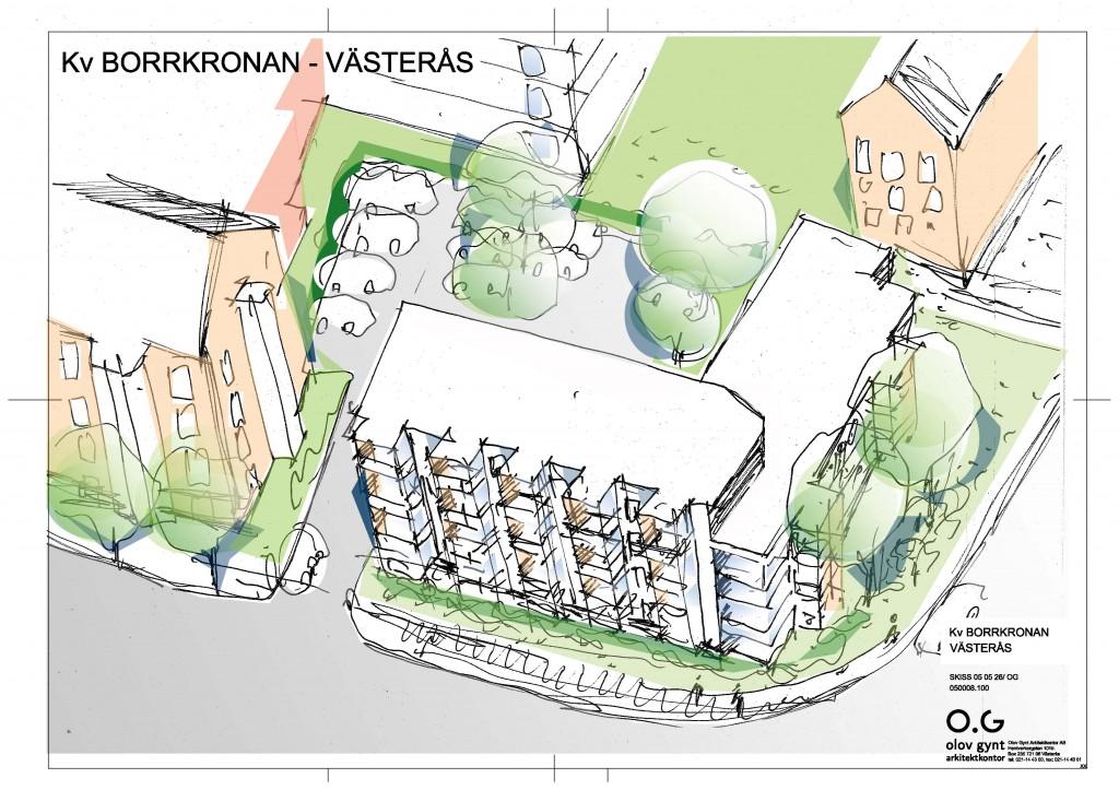 2006--, kv. Borrkronan, Västerås